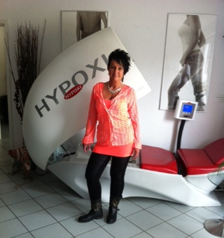 Glücklich durch Hypoxi, Andrea Stiller