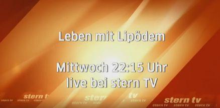 sternTV Thema: Lipödem