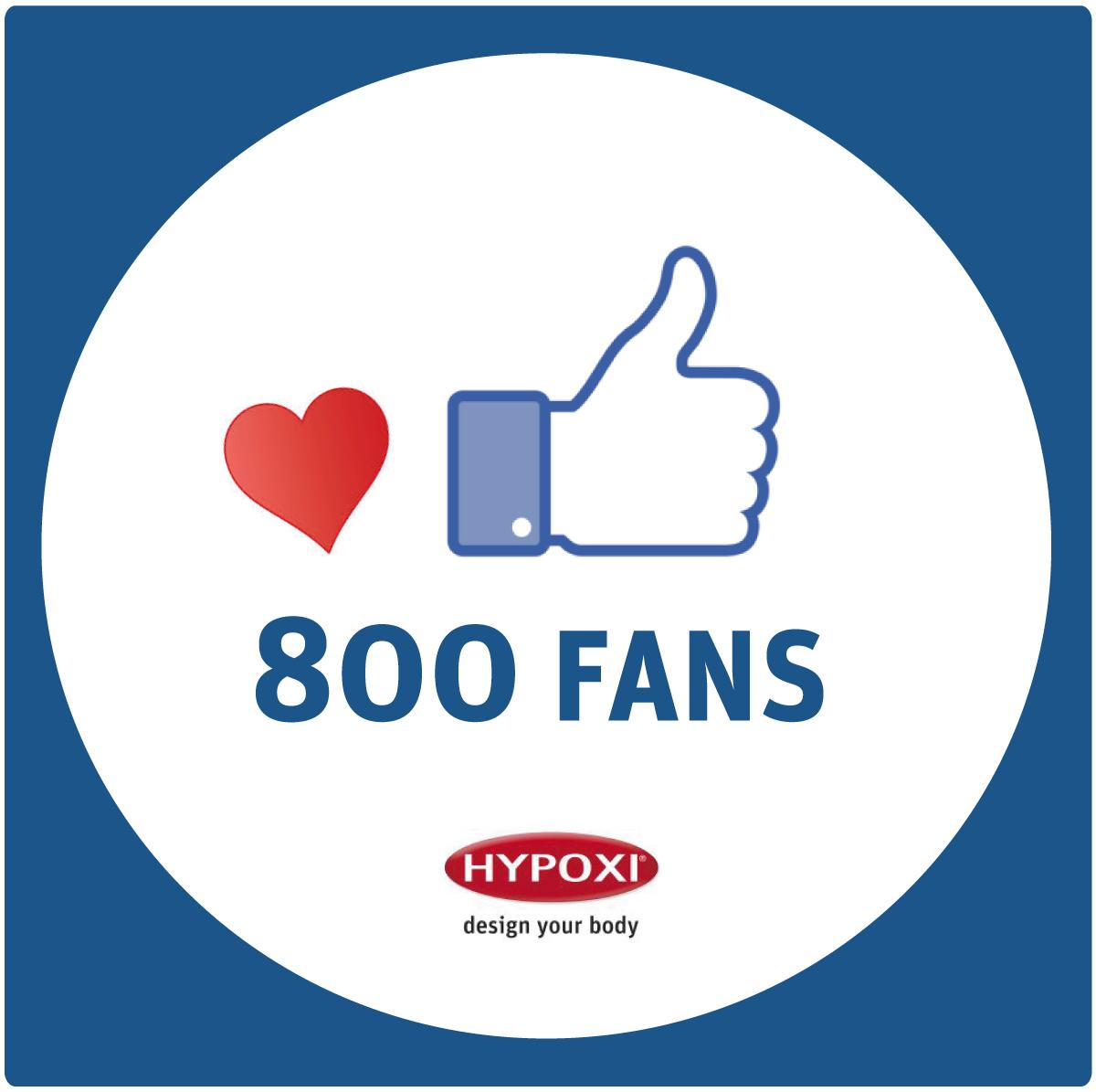 800 Fans für den Lipödem-Blog