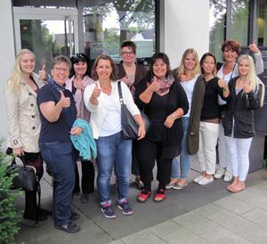 Teilnehmerinnen des HYPOXI-Lipoedem Trainings